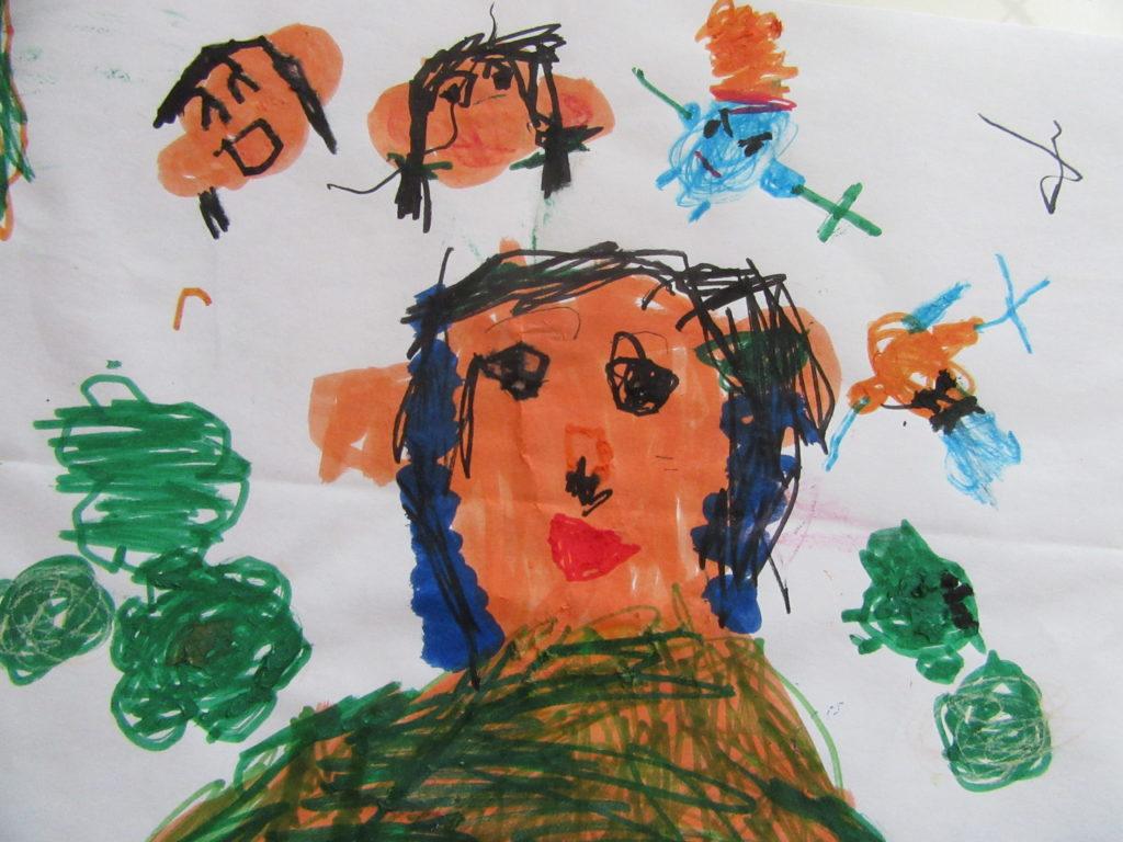 子供の絵LINEスタンプカラー